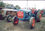 Click here for an enlarged view of a Fergy and a Fordson